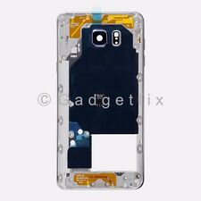 Black Samsung Galaxy Note 5 N920A N920T Middle Housing Frame Bezel Mid Chassis