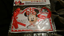 MINNIE MOUSE CAFE BANNER BIRTHDAY DECORATIONS BRAND NEW IN PACKET