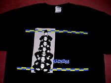 """MADNESS - SIZE L - OFFICIAL """"WORK, REST AND PLAY"""" 2009 BLACK T SHIRT - MINT"""