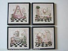 Bathtubs Victorian Bath wall decor plaques cottage French bathroom pictures