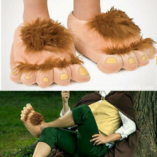 Halfling Furry Adventure Adult Slippers By Think Geek - One Size Fits Most 8016U