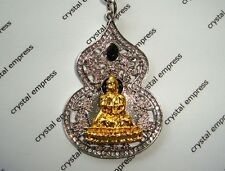 Feng Shui - 2016 Medicine Buddha with Wu Luo Keychain (Gold & Silver)