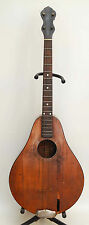 ANTIQUE LYON HEALY 4 STRING TENOR GUITAR PARLOR AMERICAN CONSERVATORY PROJECT