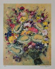 Luciano PASQUINI  litografia a colori  Autunno 50x40 firmata numerata