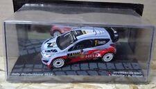"""DIE CAST """" HYUNDAI i20 WRC RALLY DEUTSCHLAND 2014 T.NEUVILLE """" SCALA 1/43"""
