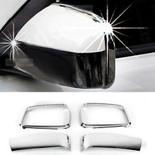 Chrome Side Mirror Cover Garnish Molding Trim 4pcs for KIA 2005-2010 Sportage