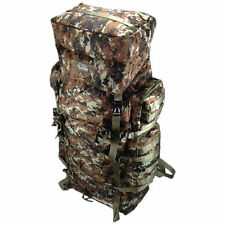 BROWN DIGITAL Extra Large Backpack Camping 4300 CI  Big Hiking  Pack Tactical