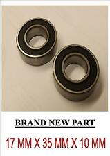 GO KART WHEEL BEARING 6003 RUBBER SHIELD X 2, PACK OF 2 BRAND NEW