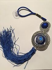 FANCY ISLAMIC CAR HANGING ORNAMENT BLUE ALLAH AND MUHAMMAD ISLAMIC NICE GIFT