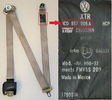 VW Käfer Sicherheitsgurt Linke Seite Hinten Beige sicherheitsgurt 1C0