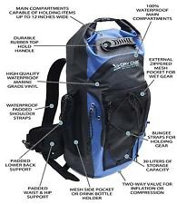 Penn Fishing DryCASE BP-35 Masonboro Waterproof Backpack 1830.71 cu. in - Blue