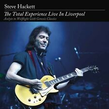 STEVE HACKETT - THE TOTAL EXPERIENCE LIVE IN LIVERPOOL   BLU-RAY NEW+