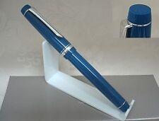 PILOT NAMIKI HERITAGE 91 BLUE TSUKI-YO STYLO PLUME OR 14 K GOLD FOUNTAIN PEN