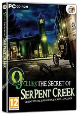 9 pistas: el Secreto De Serpiente Creek (Pc Dvd) Nuevo Sellado