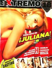 REVISTA H EXTREMO JULIANA RODRIGUES  JUNIO/JULIO 2012 H PARA HOMBRES NEW/SEALED