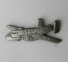 USAF US AIR FORCE B-25 MITCHELL BOMBER AIRCRAFT LAPEL PIN BADGE 1.5 INCHES