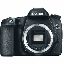 Canon EOS 70D DSLR Camera (Body Only) - Extended Cyber Week Sale