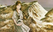 GIRL ON THE BEACH by Pati Bannister RARE SALE