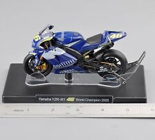 1/18 VALENTINO ROSSI Yamaha YZR-M1 #46 World Champion 2005 Motorcycle Bike Toy