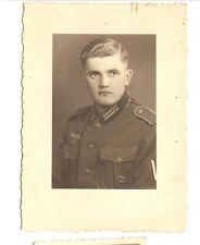 Deutsches Reich 2. Weltkrieg Foto Soldat Heer mit Orden [137]