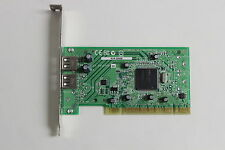 ADAPTEC AUA-200B PCI DUAL USB ADAPTER  ASSY 2019706-01  WITH WARRANTY