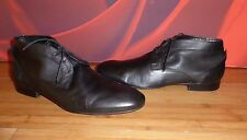 *A1* H by Hudson Black  Leather lace up boots  EU 43