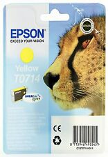 Epson T0714 Yellow Ink Cartridge for Epson Stylus SX515w SX510w SX210 SX215