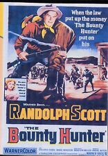 THE BOUNTY HUNTER RANDOLPH SCOTT ALL REGION DVD