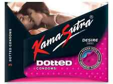 Kamasutra Dotted Condom 3Pcs Pack of Condoms for Enhanced Pleasure