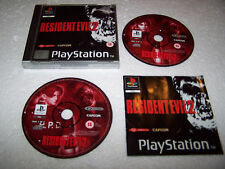 Resident evil 2-Playstation PS1-uk pal-vg cond-coffret & complet