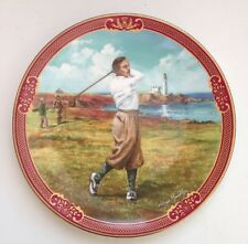 Royal Worcester Golfing Collection 'The Links' Decorative Plate ByMelvin Buckley