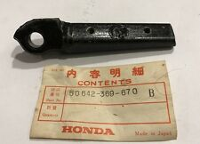Staffa pedana -  Arm, L Step - Honda 400 Four NOS: 50642-369-670B