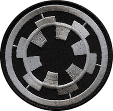 "STAR WARS imperial target EMBROIDERED IRON-ON PATCH 3.25"" **FREE SHIPPING**"