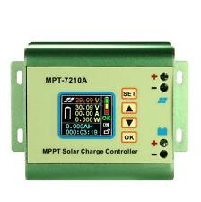 LCD MPPT Solar Charge Controller 24/36/48/60/72V 10A with DC-DC Boost Mode O3X4