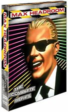Max Headroom  . The Complete Series . Season 1 + 2 . 5 DVD . NEU . OVP