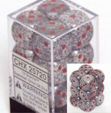 Chessex Dice: Speckled Granite - Six Sided Die 16mm d6 Set (12) CHX 25720