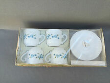 Ancien service à café en opaline ARCOPAL 4 tasses art de la table french antique