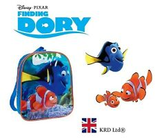 Disney FINDING DORY Kids JUNIOR BACKPACK School Bag Ruck Sack Bags Nemo Gift NEW