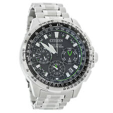 Citizen Eco-Drive Mens Promaster GPS Navihawk Satellite Wave Watch CC9030-51E