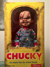 "MEZCO TOYS 2013 CHILD'S PLAY 15"" INCH MEGA SCALE CHUCKY DOLL FIGURE"