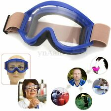 Clear Vented Safety Goggles Eye Protection Glasses Work Industrial Lab Eyewear