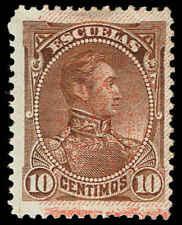 Scott # 115 - 1893 - ' Simon Bolivar ', Stamp of 1882-1888 Ovpt in Red