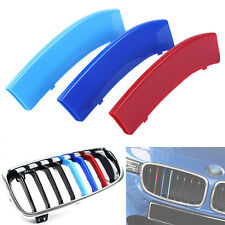 3pcs Car Grill Buckle Cover Decoration Strips Sticker For BMW X5 14-16 ,X6 15-16