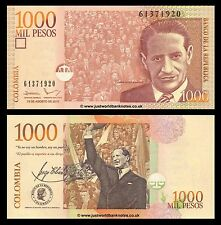 Colombia 1000 Pesos 2015  P-New Banknotes  UNC