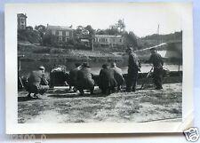 Charleville-Mézières.environs des Ets DEVILLE.photo de 1946.inondation.Ardennes