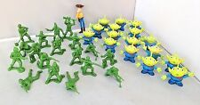 Disney Pixar Toy Story Aliens & Toy Soldiers, Woody Large Figures Bundle!