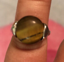 Tiger's Eye CAT's Eye Women's Size 6 Ring