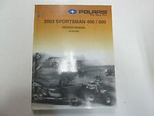 2003 Polaris Sportsman 400 500 Service Repair Workshop Shop Manual OEM Factory