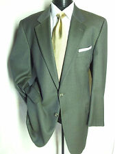 Joseph Abboud Super 100's 44L Green /Black pattern 2Button Suit pants 38W/31L
