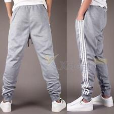 Mens Casual Trousers Sweatpants Harem Pants Slacks Jogger Dance Sportwear Baggy